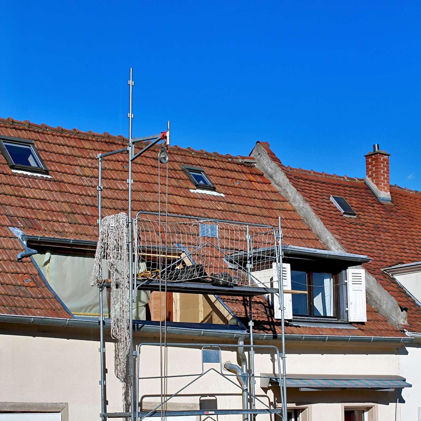 Ouverture du toit pour créer une terrasse tropézienne
