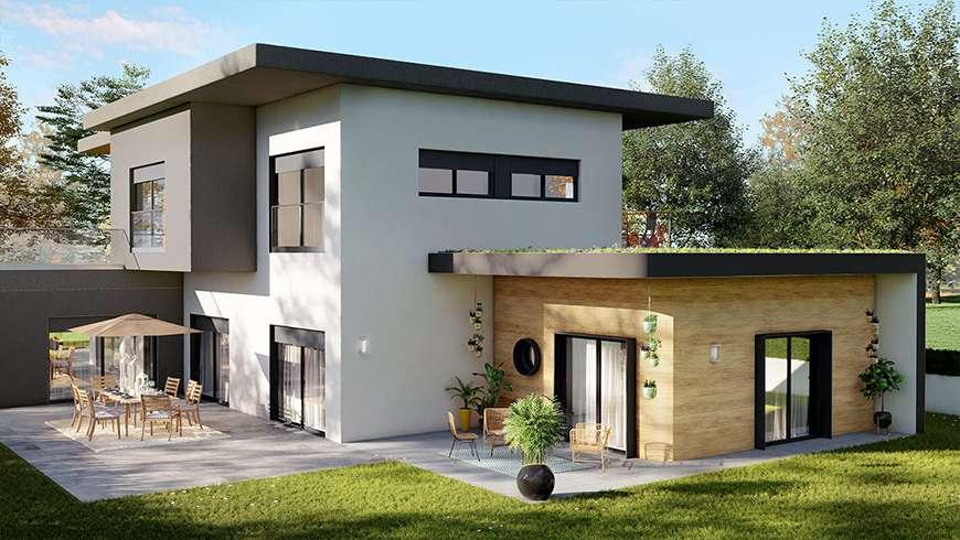 Extension de 25 m², vue avant