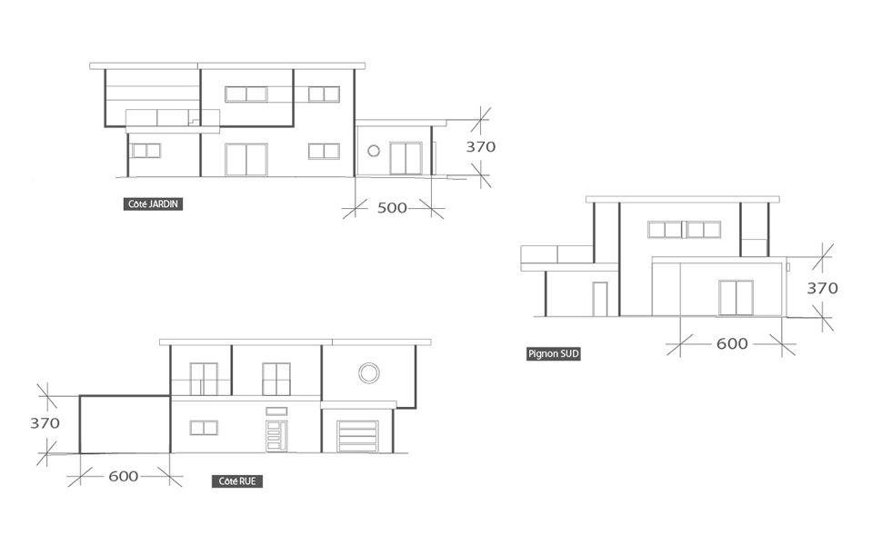 Extension de 25 m², plan