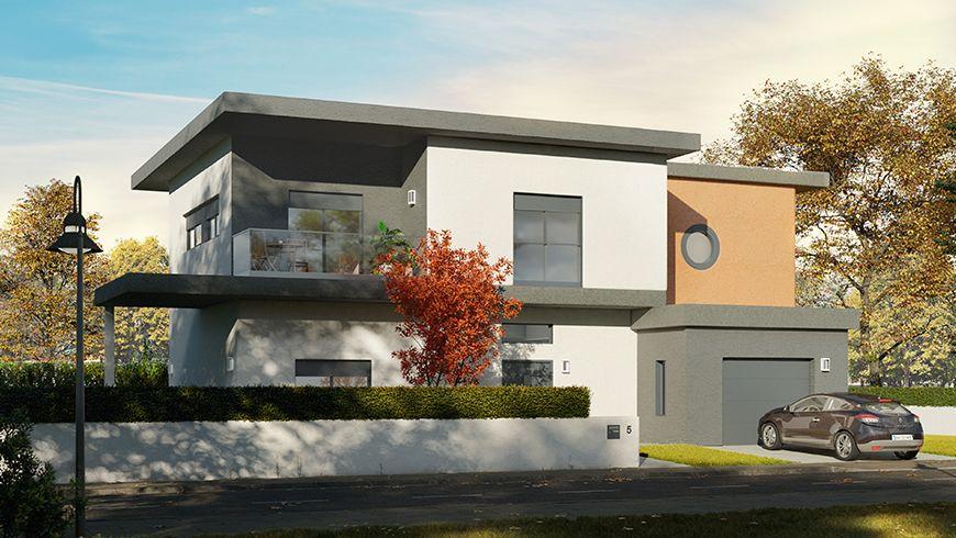 Comment Donner Une Seconde Jeunesse A Une Facade Des Annees 80 Une Facade Moderne Design La Maison Saint Gobain