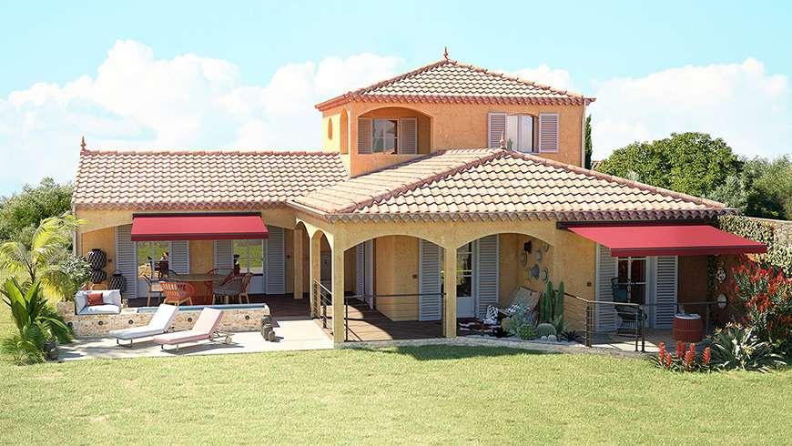 Terrasse accessible, vue avant