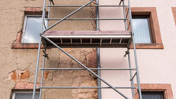 Fissures des façades