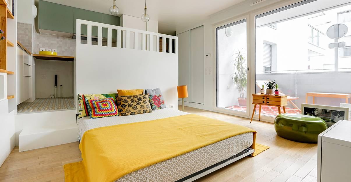 Aménager un petit appartement : gagner de la place grâce aux meubles escamotables