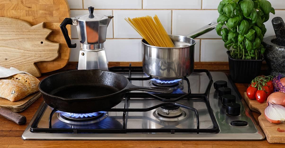 Cuisiner au gaz : réactivité et maîtrise totale de la cuisson