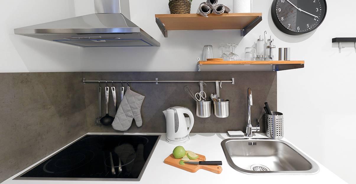 Electroménager intégré à la kitchenette