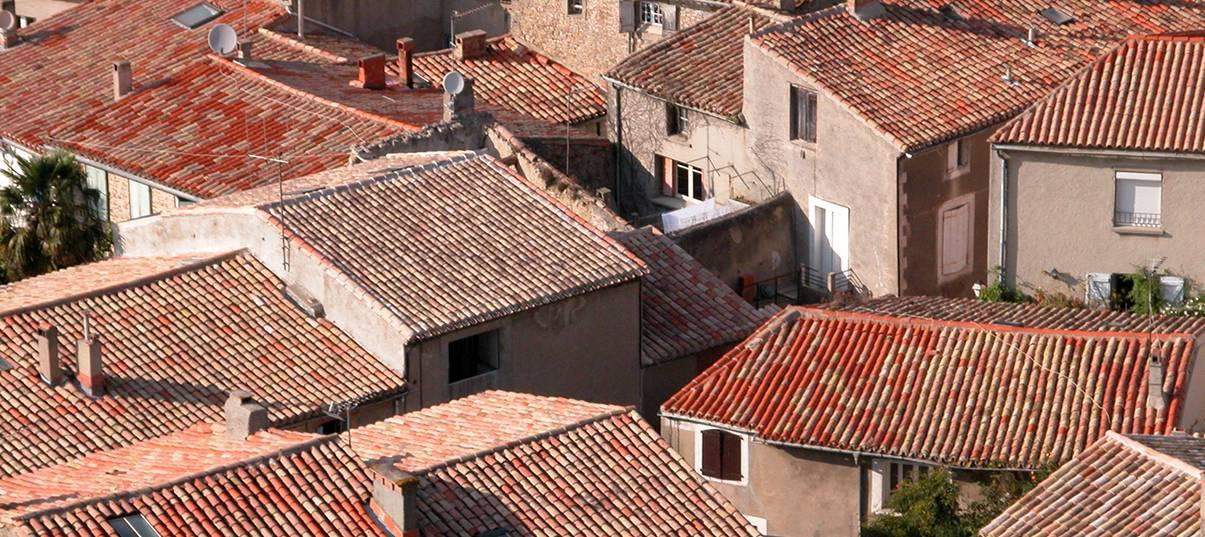 Rénover un mas provençal: toiture et tuile canal
