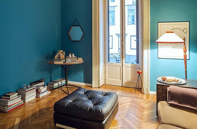 Rénovation d'appartement haussmannien: parquet rénové