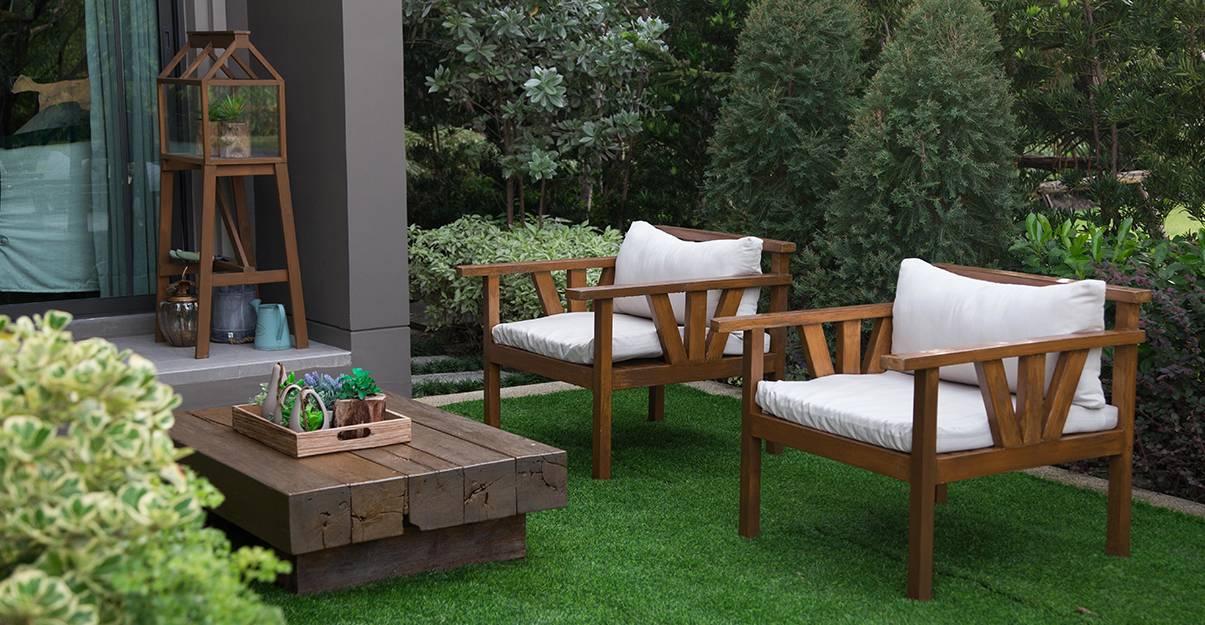 Aménagement d'un jardin : le mobilier