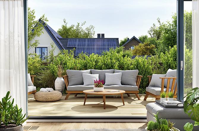 Aménager un toit terrasse: le vis à vis