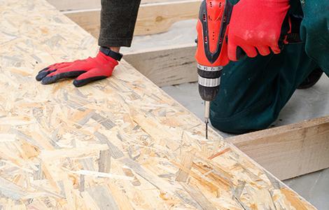 Le doublage de plancher