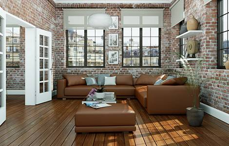 Sol intérieur :  le parquet contrecollé, idéal pour votre salon
