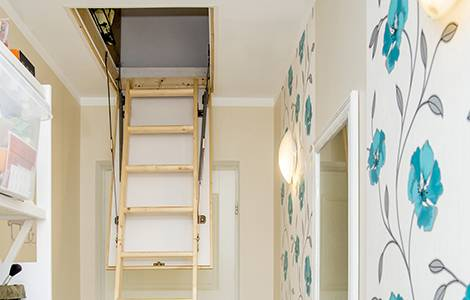 Escalier pour combles : l'escalier escamotable
