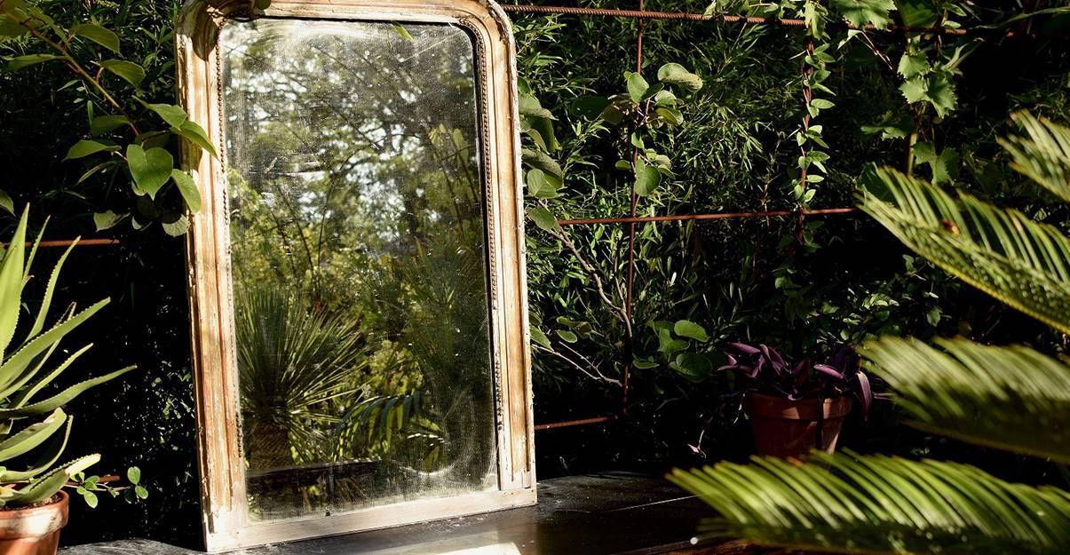 Petit jardin: installez des miroirs