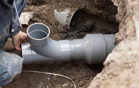 Canalisations: le PVC pour l'évacuation des eaux usées
