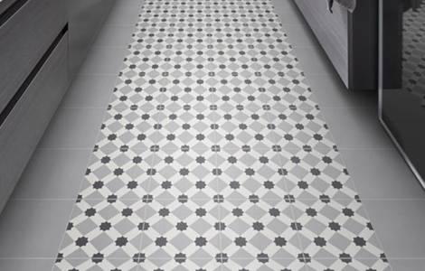 Revêtement de sol de cuisine : les carreaux de ciment