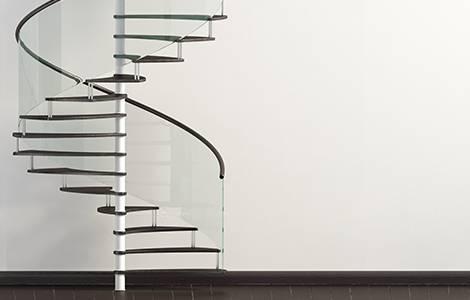 Escalier pour combles : l'escalier hélicoïdal