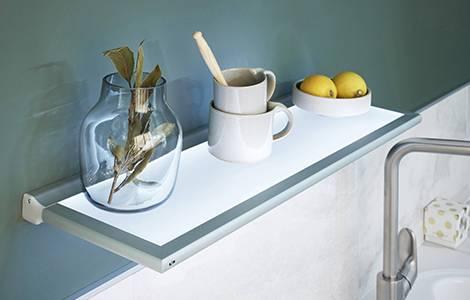 Déco cuisine : les étagères