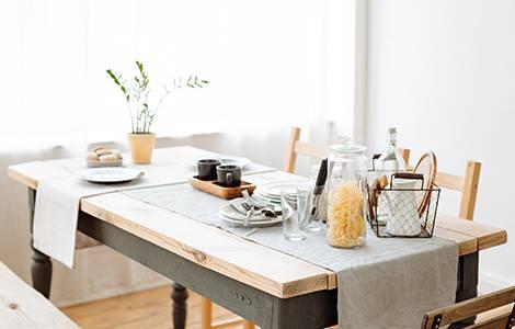 Déco cuisine : la table