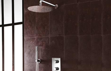 Matériel complémentaire: la colonne de douche