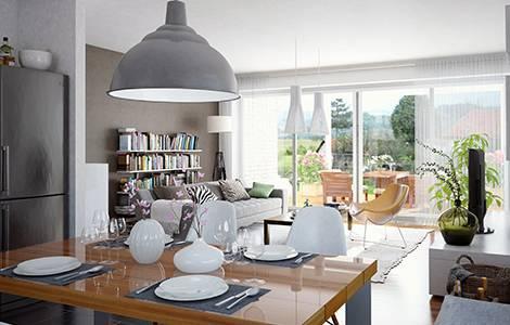 Aménagement intérieur : dimensions salon / séjour