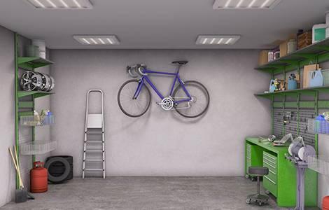 Aménagement intérieur : dimensions celliergarage