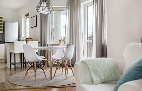 Aménagement intérieur : atmosphère salon / salle à manger