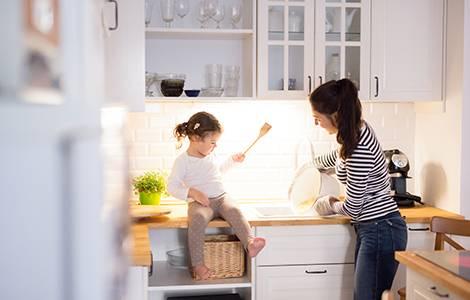 Aménagement intérieur : atmosphère cuisine