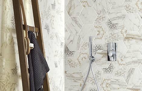 Revêtement mural de douche : la faïence
