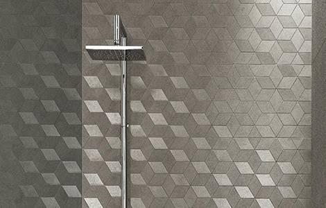 Revêtement mural de douche : la mosaïque