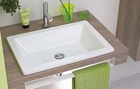 La vasque encastrable