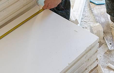 Cloisons intérieuresde distribution : le carreau de plâtre