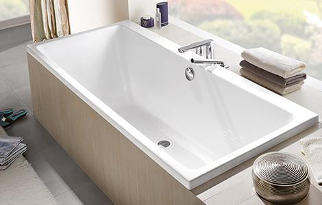 La baignoire droite