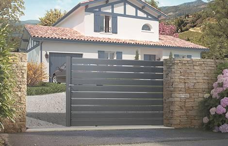 Le portail en aluminium