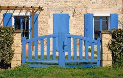 Le portail en bois