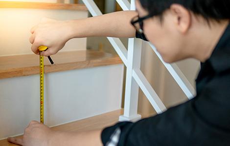 Rénovation d'un escalier: passer par un professionnel