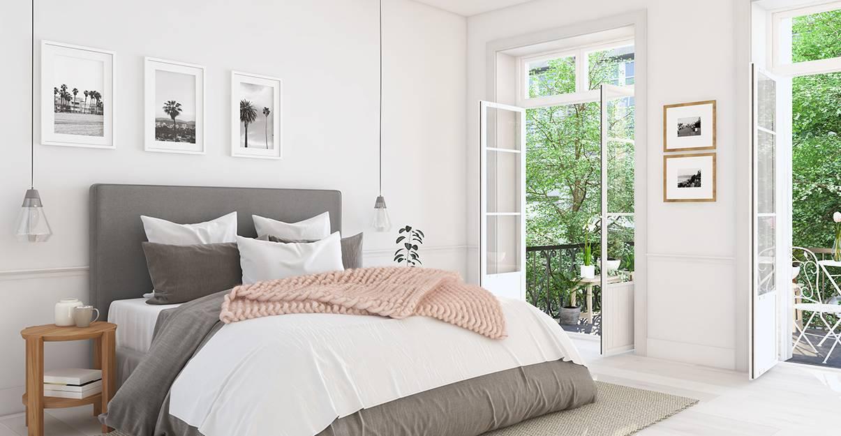 Ouvrir les fenêtres, le bon réflexe pour une chambre bien ventilée