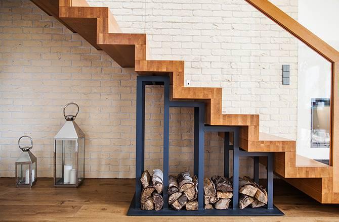 Choisir son escalier : la chaleur du bois