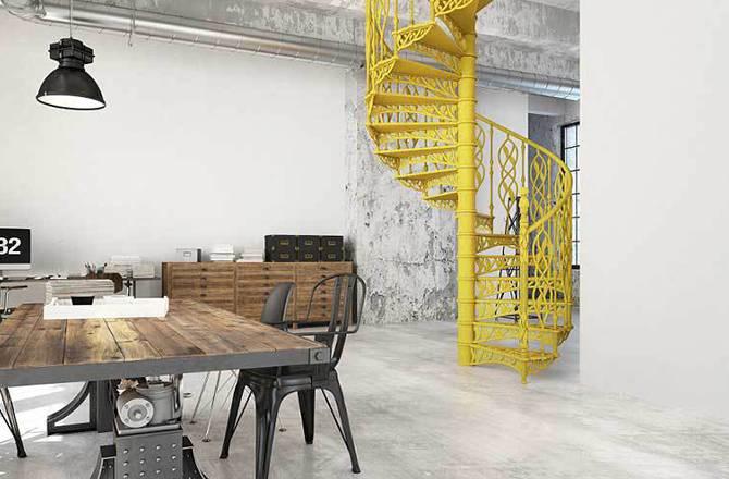 Choisir son escalier : le métal, industriel
