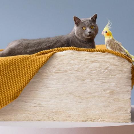 La nouvelle laine de verre d'ISOVER