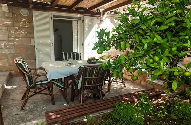 La terrasse couverte : de l'ombre en été