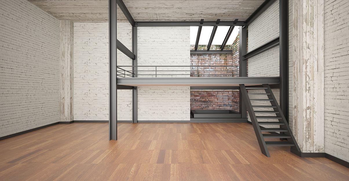 La mezzanine sur pieds, une plateforme qui s'assume