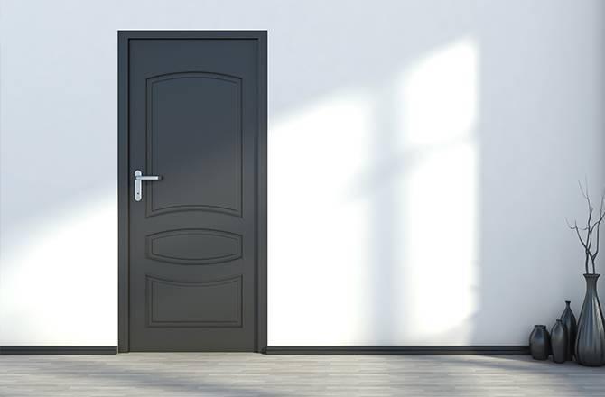 La porte en stratifié, alternative design et économique