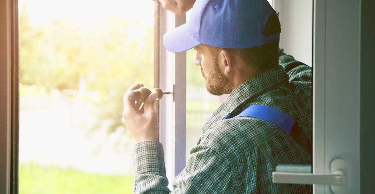 Réparation de fenêtre : le réglage