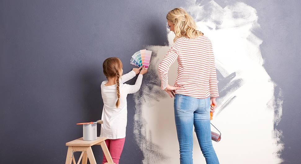 Quelle peinture choisir pour un salon