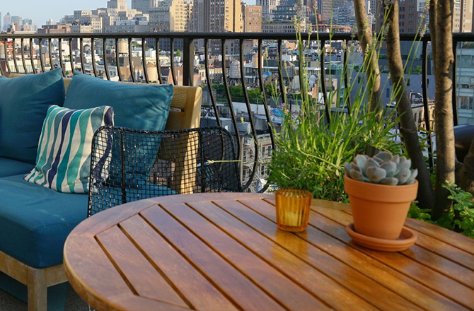 Aménager son toit terrasse en salon