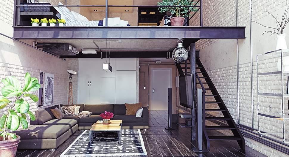 Un aménagement de loft réussi