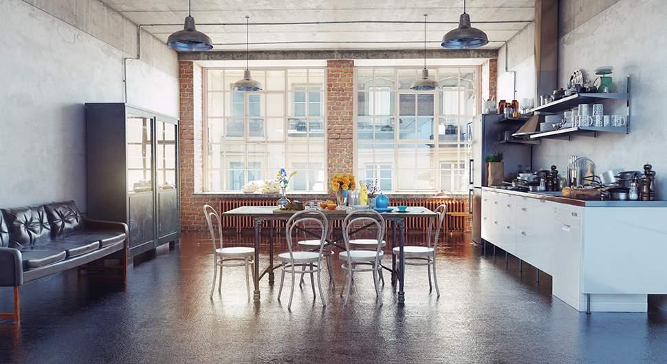 Un loft est synonyme d'ouverture et d'espace dans lequel aucune cloison n'a véritablement sa place. La cuisine doit par conséquent être elle aussi, totalement ouverte. Ultra design, fonctionnelle, pratique, la cuisine loft doit répondre à bon nombre d'exigences afin d'offrir un résultat satisfaisant. Si vivre dans un appartement totalement ouvert au style industriel peut en faire rêver beaucoup, il faut savoir que l'aménagement peut s'avérer en revanche plus complexe. Comment aménager une cuisine dans un lo