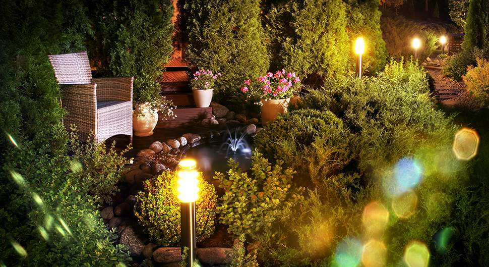 Illuminer un jardin : nos 6 astuces en photos
