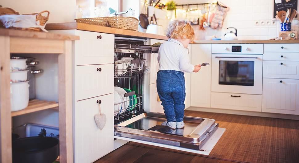 Une cuisine sécurisée pour les enfants