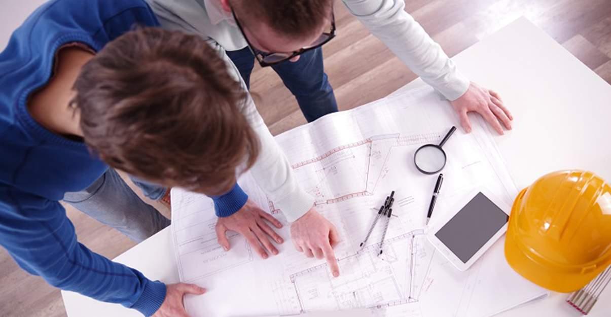 L'Architecte et le Bureau d'Études travaillent en complémentarité